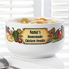 Personalized Soup Bowls - Soup's On - 12440