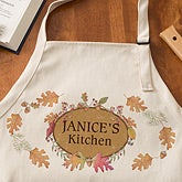 Personalized Aprons - Autumn Leaves - 12448