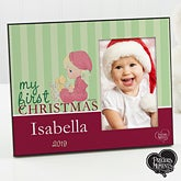 Personalized Baby's First Christmas Picture Frame - Precious Moments - 12462