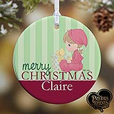 Personalized Baby's First Christmas Ornaments - Precious Moments - 12464