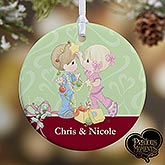 Personalized Christmas Ornaments - Precious Moments Couple - 12468