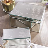 Personalized Mirror Jewelry Boxes - Friend Of My Heart - 12482