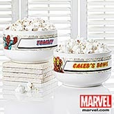 Marvel Comics Personalized Superhero Bowl - Wolverine, Spiderman, Hulk, Iron Man - 12494