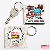 Personalized Marvel Comics Superhero Key Rings - 12495