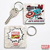 Personalized Marvel Comics Superhero Key Rings - 12495