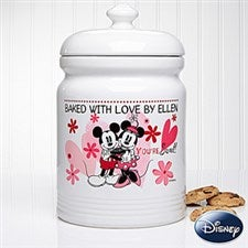 Personalized Mickey Mouse & Minnie Mouse Cookie Jars - You're Sweet - 12502