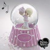 Personalized Precious Moments Birthday Snow Globe - 12509