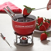 Personalized Fondue Set - Warm Hearts - 12524