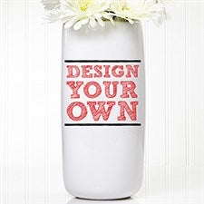 Design Your Own Personalized Flower Vase - 12533