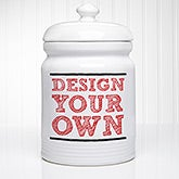 Design Your Own Personalized Cookie Jars - 12534