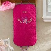 Personalized Girl's Garment Bag - Ballet Dancer - 12546