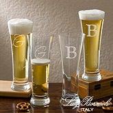 Personalized Pilsner Glass Set - Luigi Bormioli Sparkx - 12555