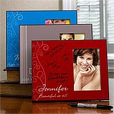 Personalized Signature Picture Frames - Birthday Greetings - 12580
