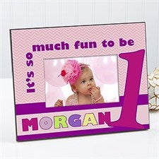 Personalized Birthday Picture Frames for Kids - 123 Happy Birthday to Me - 12581