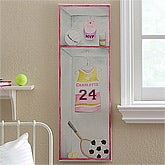 Girls Personalized Sports Jersey Canvas Artwork - 12623