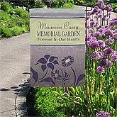 Personalized Garden Flags - Memorial Garden - 12643