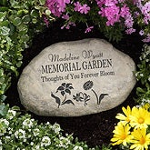 Personalized Memorial Garden Stone - 12644