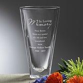 Personalized Memorial Vases - Love Blooms Eternal - 12645