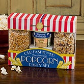 Old Fashioned Four Seasoning Popcorn Party Set  - 12655