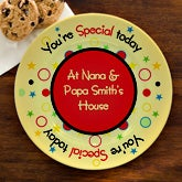 Personalized Birthday Plates - You're Special Today - 12661