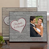 Personalized Elvis Picture Frame - Can't Help Falling In Love - 12667