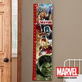 Personalized Kids Growth Chart - The Avengers - 12670