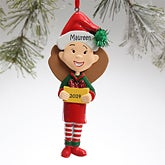 Mom Character Personalized Christmas Ornaments - 12679