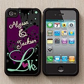 Personalized Photo iPhone 4 Cases - Love Is - 12686