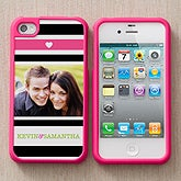 Personalized Photo iPhone 4 Cases - My Sweetheart - 12687