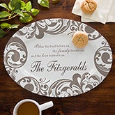 Personalized Serving Platters - Family Blessing - 12690