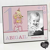 Personalized Precious Moments Baby's First Birthday Picture Frame - 12705