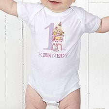 7e029f3d3 Personalized Baby's First Birthday Clothes - Precious Moments - 12707