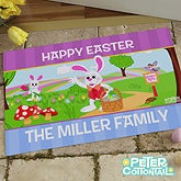 Personalized Easter Doormats - Peter Cottontail - 12722