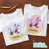 Personalized Kids Easter Clothes - Peter Cottontail - 12724