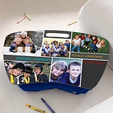 Personalized Photo Lap Desk - Best Friends Collage - 12727