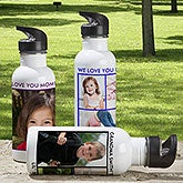 Personalized Photo Water Bottles - Picture Perfect - 12732