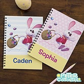 Personalized Kids Notebooks - Peter Cottontail - 12735