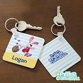Personalized Peter Cottontail Key Ring - 12736