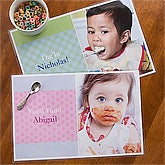 Personalized Photo Placemat for Kids - 12752
