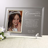 Personalized Communion Picture Frames - A Communion Blessing - 12770