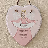 Personalized Religious Wall Plaques - Angel Blessings - 12774