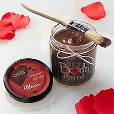 Personalized Chocolate Body Paint - Dessert's On Me - 12780