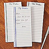 Personalized Notepad Set - Family Is Forever - 12782