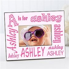 Personalized Alphabet Name Picture Frame - 1279