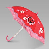 Personalized Girls Umbrella - Ladybug - 12805