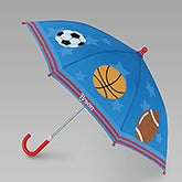 Personalized Boys Umbrellas - Sports - 12806