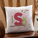 Personalized Kids Keepsake Pillow - Owl About You - 12814