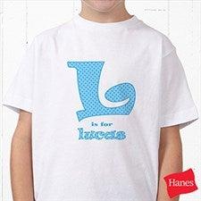 Personalized Kids Clothes - Alphabet Name Design - 1282