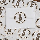 Personalized Cowboy Birthday Stickers - 12820