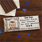 Personalized Candy Bar Wrappers - Wanted Cowboy - 12821